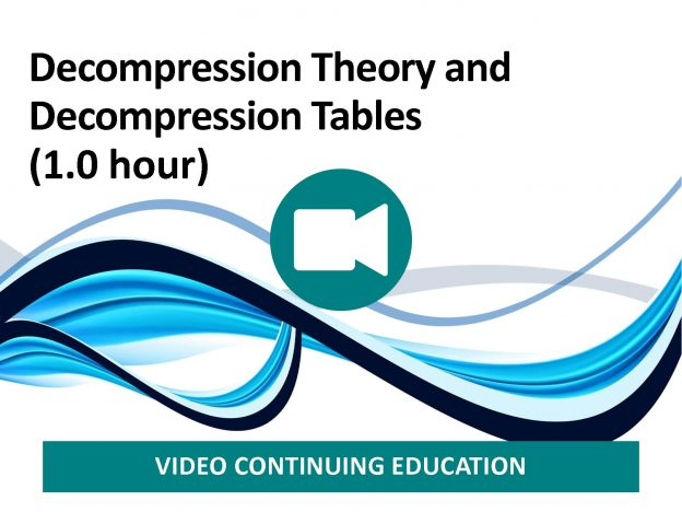 Decompression Theory and Decompression Tables (1.0 hour) course image